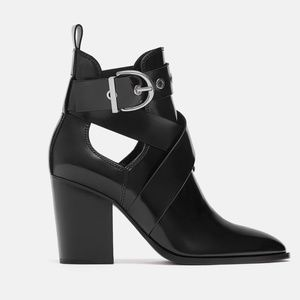 CUT OUT HEEL BOOT